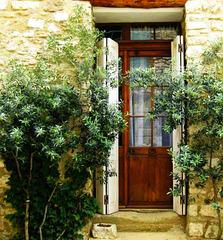 ...l'entrée au paradis de l'huile d'olive...
