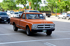 Canada 2016 – The Canadian – Winnipeg – Old GMC pickup