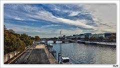 La Seine du côté de Paris-Bercy