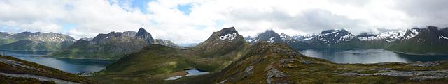 Norway, Landscape of the Island of Senja