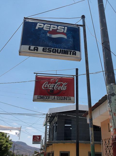 Pepsi y Coca-Cola