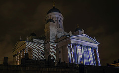 Helsinki Cathedral in a different light