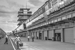 Pit Row - Indianapolis 500 Track