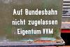 Eisenbahnmuseum Lokschuppen Aumühle 2015 – Auf Bundesbahn nicht zugelassen Eigentum VVM