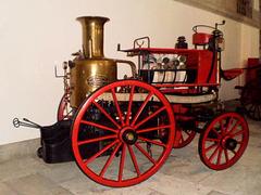Steam water pump.