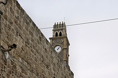 The Clock Tower – Old Port, Acco, Israel