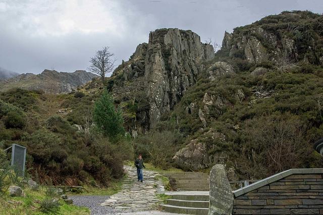 Ogwen, the path to lake Idwal