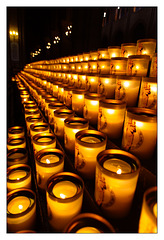 Candles Notre Dame...