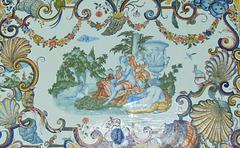 Plateau de table (1760)