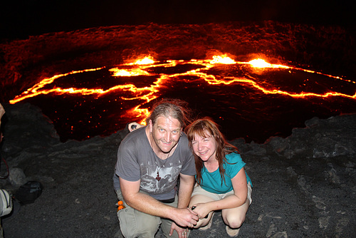 Late at Night, Erta Ale Volcano