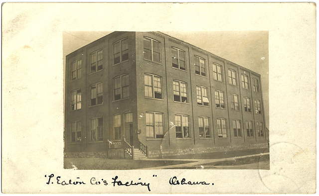 ON0110 OSHAWA - T. EATON CO. FACTORY