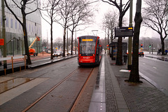 New tram of The Hague