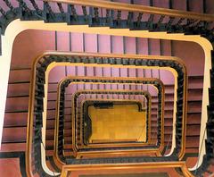 Treppen im  Sloman-Haus -Staircase #08/50
