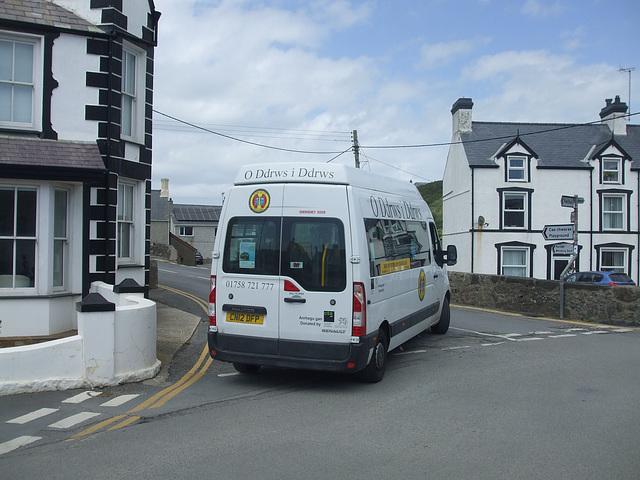 DSCF0205 O Ddrws I Ddrws CN12 DFP - Llŷn Coastal Bus/Bws Arfordir Llŷn