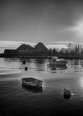 River Leven and Dumbarton Rock