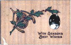 Christmas Eve Greetings, 1908