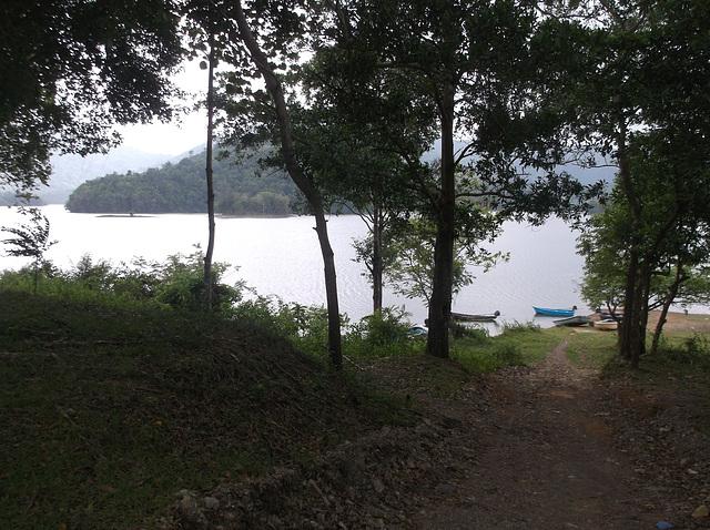 Asian reservoir
