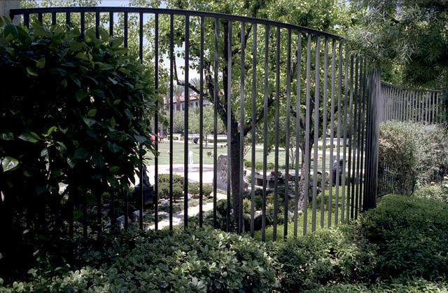 Memorial Garden Fence
