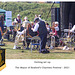 Seaford Silver Band Getting set up Mayor's Charities Festival 2021
