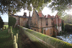 Annesley Hall, Nottinghamshire (abandoned and burnt by vandals)