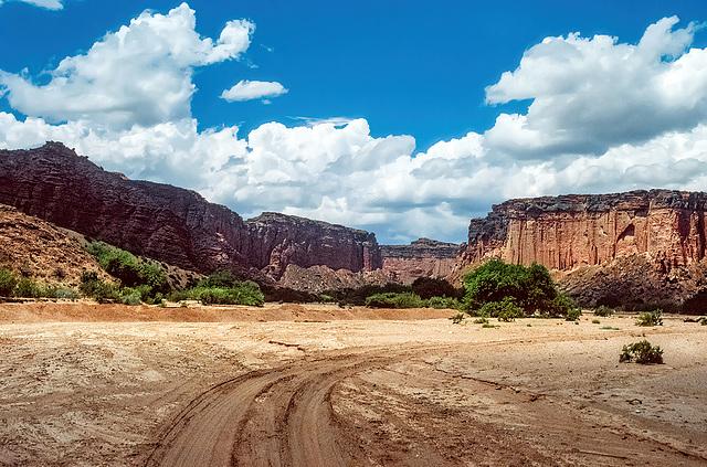 approaching Parque Nacional Talampaya