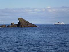 Ferry-boat navigating between Azorean islands.