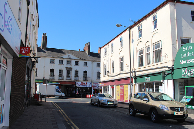 Prince's Street looking towards Hall Gate, Doncaster, South Yorkshire