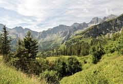Allgäuer Bergwelt bei Oberstdorf