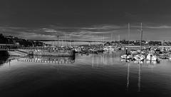 RIBADEO - Espagne, le Port Nautique Panorama