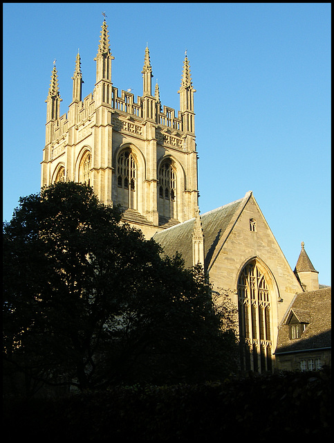 tower of Merton College Chapel