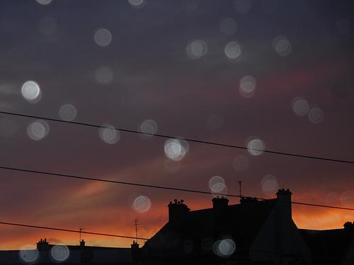 ce soir au coucher du soleil