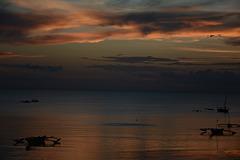 Zanzibar, Sunset over Indian Ocean