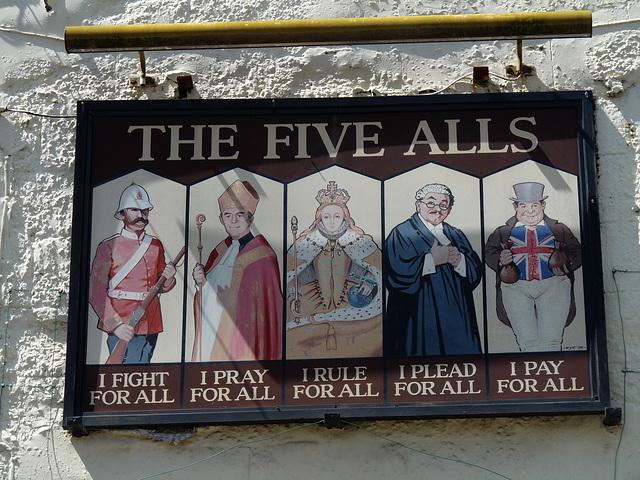 'The Five Alls'