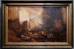 """""""La destruction de Sodome"""" (William Turner - 1805)"""