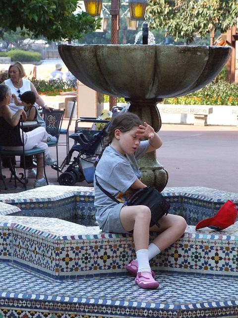 Phoebe at Epcot Disney Florida April 2006