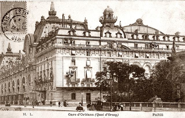 Musee d'Orsay/ Gare d'Orsay.