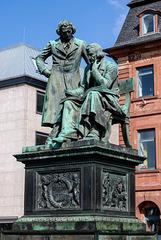 Hanau: Monument of Brothers Grimm
