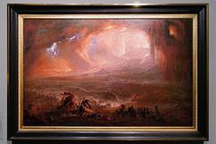 """""""La destruction de Pompéi et d'Herculanum"""" (John Martin - 1822)"""