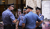 Carabinieri gather for lunch
