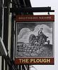 The Plough - pub sign
