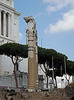 Columns of the Temple of Venus Genetrix in the Forum of Julius Caesar in Rome, July 2012
