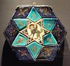 Hexagonal Tile Ensemble with Sphinx in the Metropolitan Museum of Art, July 2016
