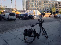 Mein Fahrrad am Postplatz