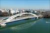 Lyon (69) Pont Raymond Barre. 15 février 2019.