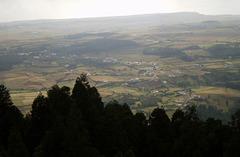 Bird eye view from Pico Alto.