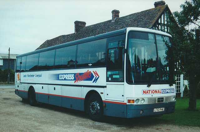 Express Travel L712 PHE at Whittlesford - 4 Oct 2000
