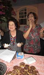 Gilda Baptista de Freitas e Nilde Barros Diuana