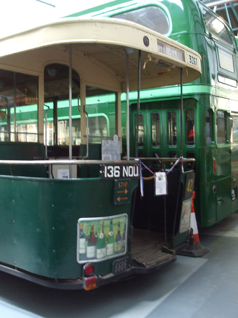 DSCF8754 Former RATP, Paris bus 3267 at the Isle of Wight Bus and Coach Museum - 6 July 2017