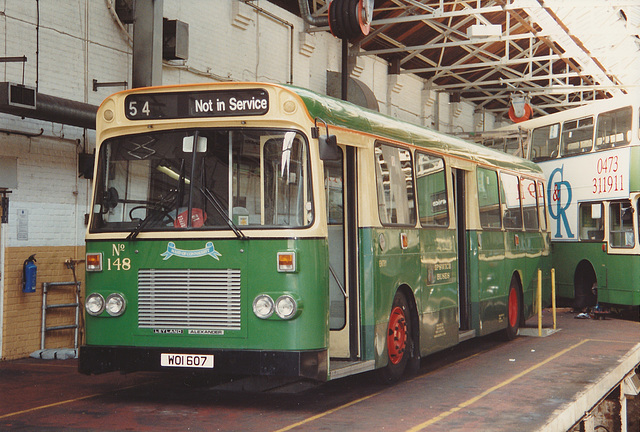 ipernity: Ipswich Buses 148 (WOI 607) - 16 May 1992 - by