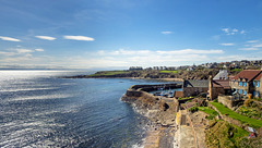 Crail Harbour, Aerial View